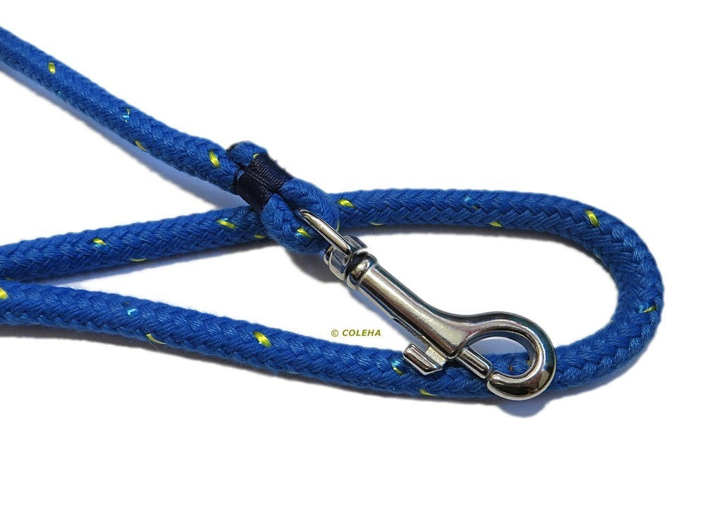 Griffiges Blau  8 mm - 1,0 Meter