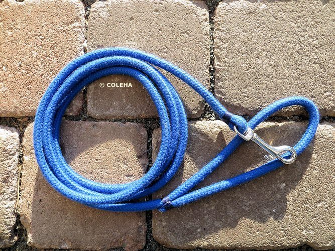 Griffiges Royalblau  8 mm - 1,5 Meter